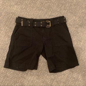 Sanctuary black cargo shorts